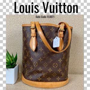 Louis Vuitton Should Bucket PM Mongoram